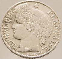 50 Centimes - Cérès -  France - 1894 A   - Argent - Sup - - France