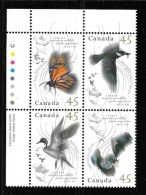 CANADA, 1995. # 1566a, MIGRATORY WILDLIFE, UL MNH - Blocs-feuillets