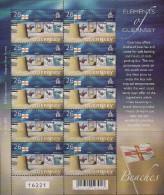 2004 Guernsey Mi. 1001-6 **MNH Sheet  Tourismus; Europa: Ferien - 2004