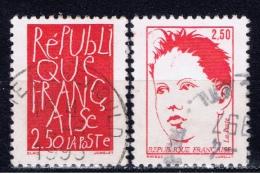F+ Frankreich 1992 Mi 2917 2919 Republik - Oblitérés