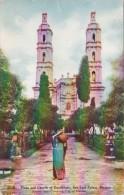 Mexico San Luis Potosi Plaza And Church Of Guadalupe - México