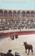 Mexican Bull Fight Ready To Place Banderillas - Corrida