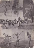 CALENDARIO DEL AÑO 1963 DE UNAS CHICAS SEXI - PARA NOSOTROS LOS DEL SAHARA (CALENDRIER-CALENDAR) MUJER-WOMAN-NUDE - Tamaño Pequeño : 1961-70