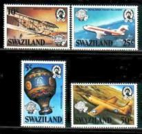 SWAZILAND, 1983, Mint Never Hinged Stamps, Aviation, 432-435 ,#6676 - Swaziland (1968-...)