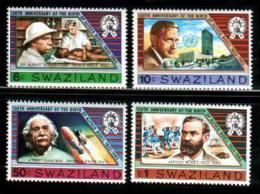 SWAZILAND, 1983, Mint Never Hinged Stamps, Alfred Nobel, 437-440 ,#6677 - Swaziland (1968-...)