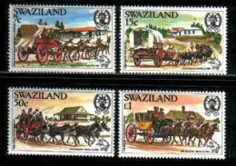 SWAZILAND, 1984, Mint Never Hinged Stamps, World Post Congress, 454-547 ,#6680 - Swaziland (1968-...)