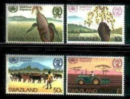 SWAZILAND, 1983, Mint Never Hinged Stamps, World Food Program, 441-444, #6678 - Swaziland (1968-...)
