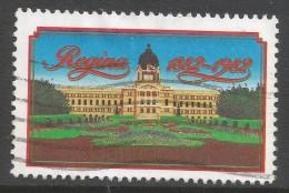Canada. 1982 Centenary Of Regina. 30c Used. SG 1048 - 1952-.... Reign Of Elizabeth II