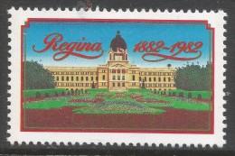 Canada. 1982 Centenary Of Regina. 30c MH. SG 1048 - 1952-.... Reign Of Elizabeth II