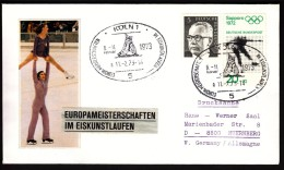 Germany Köln 1973 Figure Skating European Championship - Patinaje Artístico