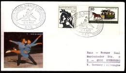 Germany Bad Nauheim 1972 Figure Skating German Championship - Patinaje Artístico