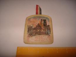 EPINGLETTE CARTON 1915  JANVIER ARRAS - 1914-18