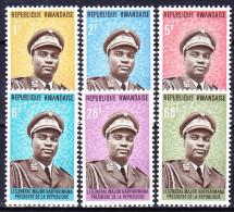 RWANDA 1974 YT N° 572 à 577 ** - 1970-79: Mint/hinged