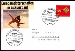 Germany Garmisch-Partenkirchen 1969 Figure Skating European Championship - Pattinaggio Artistico