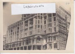 BIARRITZ - Construction De L´ Hotel MIRAMAR - Juillet  1927  (¨Photo Pas Carte Postale )  PRIX FIXE - Biarritz