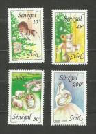 Sénégal N°848 à 851 Neufs Avec Trace De Charnière* Cote 2.90 Euros - Senegal (1960-...)
