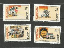 Sénégal N°852 à 855 Neufs Avec Trace De Charnière* Cote 4.75 Euros - Senegal (1960-...)
