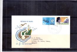 FDC Nauru To England - Independence 1968 (to See) - Nauru