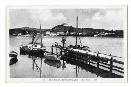 (8176-83) Ile De Porquerolles - Le Port - Porquerolles