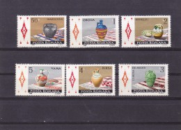 CERAMICS 1988, FULL SET Mi. 4429 - 34 ,MNH ** 1988 ROMANIA.. - Ungebraucht