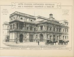 PETITS ÉDIFICES RECUEILLIS PAR A. RAGUENET 1892 - HOTEL DE VILLE DE DÉVILLE (ESPAGNE -AYUNTAMIENTO) - Architecture