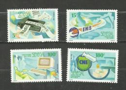 Sénégal N°869 à 872 Neufs Avec Trace De Charnière* Cote 3.15 Euros - Senegal (1960-...)