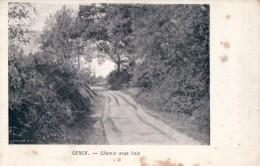 Genk Genck Chemin Sous Bois (reclame Keerzijde: A F Michel Bruxelles Midi Magasin De Chaussures ) - Genk