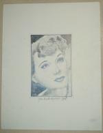 Dessin Au Crayon 1951 - Jean Ken ( 2) - Dessins