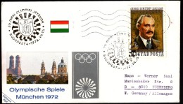 Hungary Budapest 1972 Olympic Games Munich 1972 - Sommer 1972: München