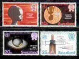 SWAZILAND, 1976, Mint Lightly  Hinged Stamps, Health Year Blindness, 249-252 , #6638 - Swaziland (1968-...)
