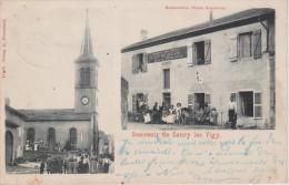 57-SANRY LES VIGY-2 VUES-RESTAURANT ENGELBERG-BELLE CARTE - France