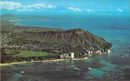 NORTH AMERICA - USA - HAWAII ( HI ) : Diamond Head And Kapiolani Park - CPSM Format CPA - Amérique Du Nord - Etats-Unis