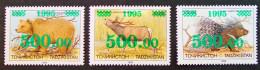 SURCHARGES VERTES 1995 - NEUFS ** - PH 930911 - TRES RARES - Tadjikistan