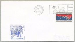 GEMINI 9 - LAUNCH DAY COVER WITH OFFICIAL NASA-KSC CACHET - Briefe U. Dokumente