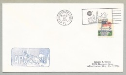 APOLLOI 9 - LAUNCH DAY COVER WITH OFFICIAL NASA-KSC CACHET - Briefe U. Dokumente