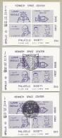 KSC PHILATELIC SOCIETY -APOLLO 10 S/S (3)- 1 MINT,2 WITH OFFICIAL NASA-KSC CACHETS-SCARCE - Briefe U. Dokumente
