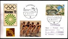 Germany Munich 1972 Olympic Games Munich 1972 Cycling - Sommer 1972: München