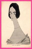 CPA Satirique - Caricature - Cléo De Mérode - Illustrateur LEAL DE CAMARA - P.L. PARIS - Série Les Cocottes - Personnages