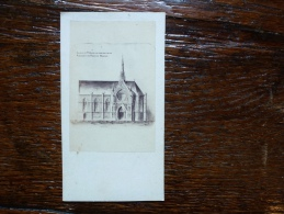 CHAPELLE ST JOSEPH EN CONSTRUCTION AU PENSIONNAT DES FRERES DE BEAUVAIS - Places