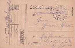 Feldpostkarte - Pferdedepot No. 2 D XVIII A.K. - 1915 (21772) - Deutschland