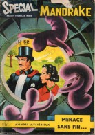 Spécial Mandrake-Mondes Mystérieux N°52, 1967 - Mandrake