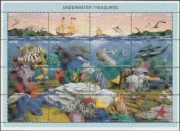 """NEVIS  964-79 Im Zusammendruckbogen """"Internationale Briefmarkenausstellung SINGAPORE'95"""" MNH / ** / Postfrisch - St.Kitts Und Nevis ( 1983-...)"""