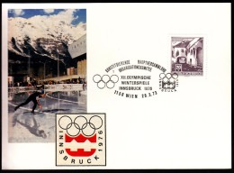 Austria Vienna 1973 Olympic Games Innsbruck 1976 The Constitution Of The Organizing Committee Cancel No. 1 - Invierno 1976: Innsbruck