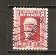 Tánger Español - Edifil 77 - Yvert 196 (usado) (o) - Spanisch-Marokko