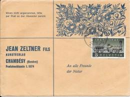 Belle Enveloppe   Kunstverlag  - Jean Zeltner Fils Chambésy (Genève) - Schweiz
