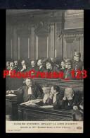 75 - PARIS  - Mme STEINHEIL Devant La Cour D'Assises - Avocat Me AUBIN - France