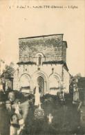 Dép 16 - Cimetières - Cimetière - La Rochette - L'église - état - Sonstige Gemeinden