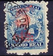 COSTA RICA 1881-83 YT N° 8 Obl. - Costa Rica