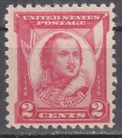 United States    Scott No.  690    Mnh    Year  1931 - Unused Stamps
