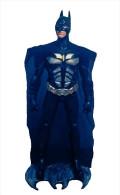 G) BATMAN, MARBLE POWDER WITH ACRYLIC, 30 INCHES TALL - Batman